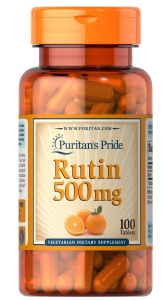Рутин, Rutin, Puritan's Pride, 500 мг, 100 таблеток