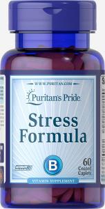 Стресс формула, Stress Formula, Puritan's Pride, 60 капсул