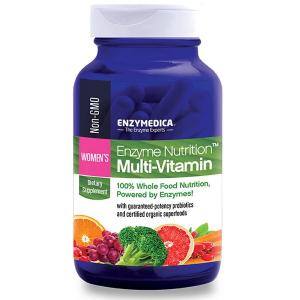 Ферменты и мульти-витамины для женщин, Enzymedica, 120 капcул