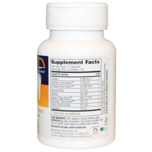 Пищеварительные ферменты, Лакто, Enzymedica, 30 капсул