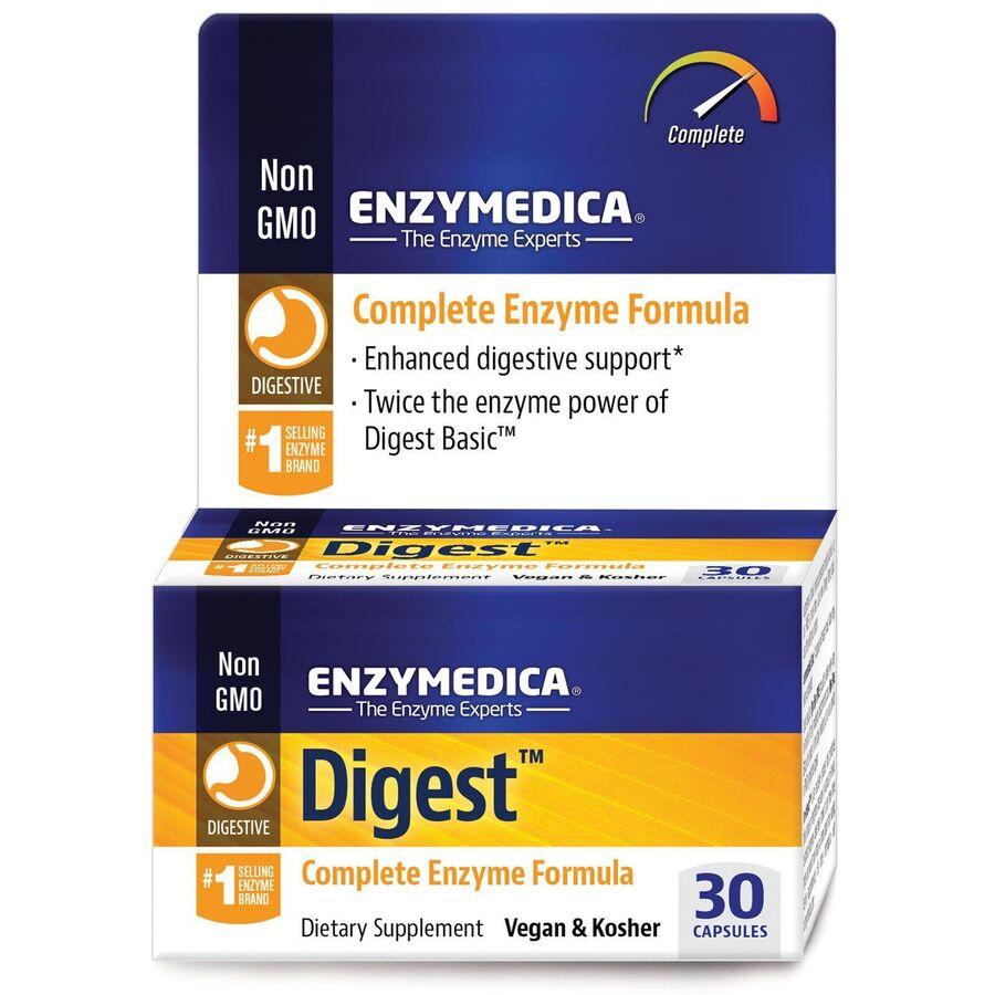 Полная формула энзимов, Enzymedica, 30 кап.