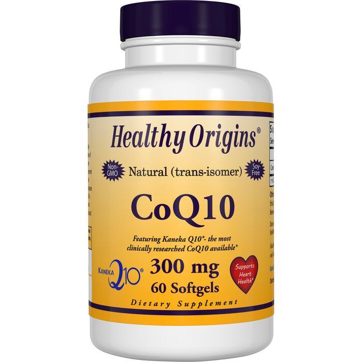 Коэнзим Q10, Healthy Origins, Kaneka Q10 (CoQ10), 300 мг