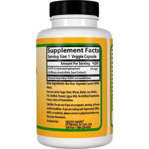 5-гидроксил L-триптофан (5-НТР), Healthy Origins, 50 мг