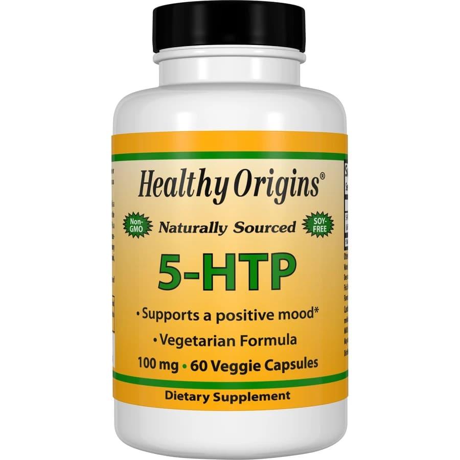 5-гидроксил L-триптофан (5-НТР), Healthy Origins, 100 мг.