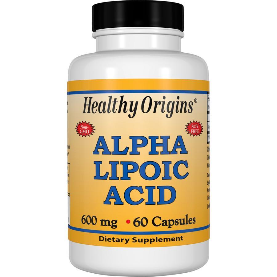 Альфа-липоевая кислота, Healthy Origins, 600 мг.
