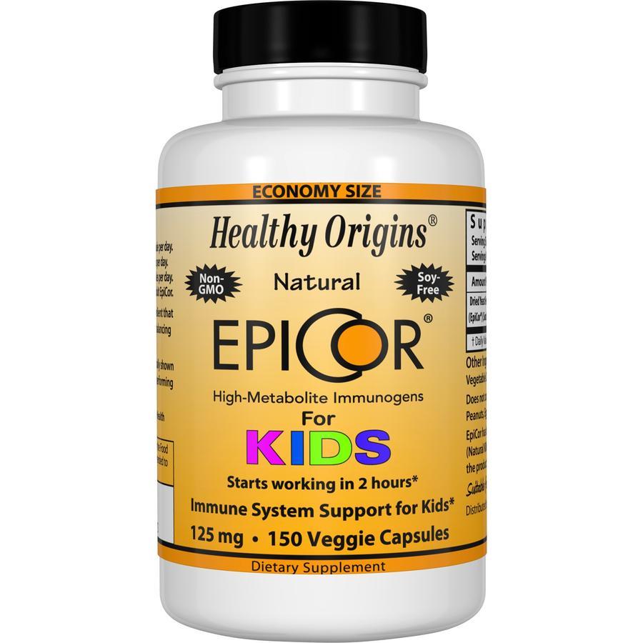 Эпикор для детей, Healthy Origins, 125 мг.
