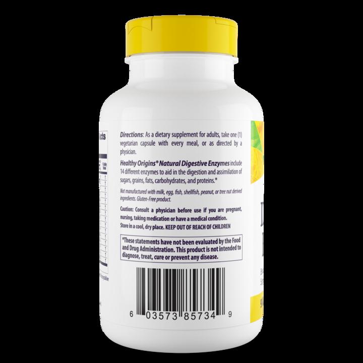 Пищеварительные ферменты, Healthy Origins, 90 капсул
