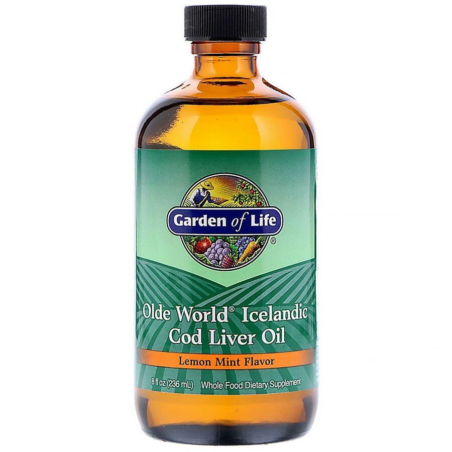 Рыбий жир из печени трески, Garden of Life, 236 мл.