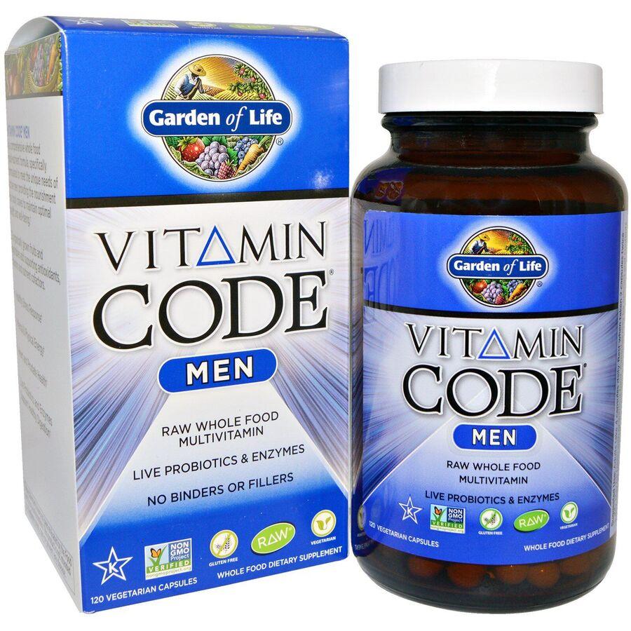 Витамины для мужчин, Garden of Life, 120 капсул