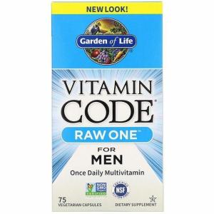 Витамины для мужчин, Garden of Life, 75 капсул