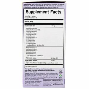 Пробиотическая формула для беременных и кормящих мам (Probiotics), Garden of Life, 30 капсул