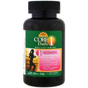 Витамины для женщин, Multivitamins, Country Life, 60 таблеток