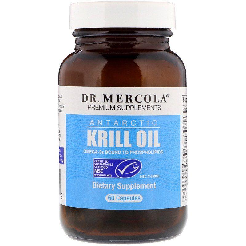 Масло арктического криля,  Krill Oil, Dr. Mercola
