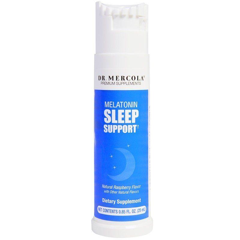 Формула сна, мелатонин и мята, Sleep support, Dr. Mercola, 25 мл.