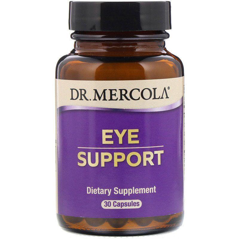 Поддержка глаз с лютеином, Eye support, Dr. Mercola, 30 капсул