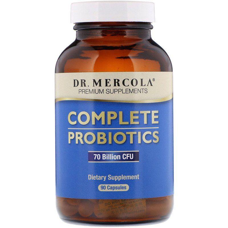 Пробиотики для расщепления лактозы, Dr. Mercola, 90 капсул