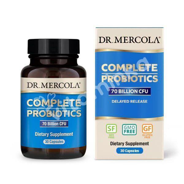 Пробиотики, Dr. Mercola, Полный комплекс, 30 капсул