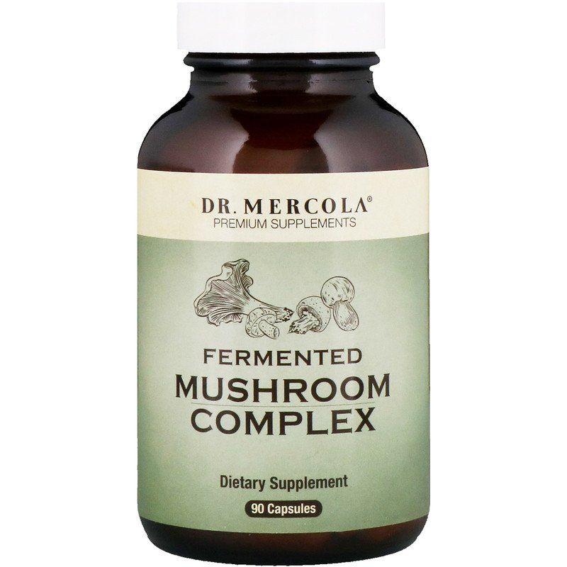 Комплекс грибов, Mushroom complex, Dr. Mercola, 90 капсул