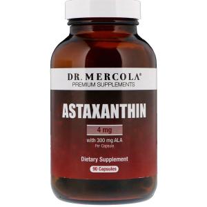 Астаксантин, Dr. Mercola, 90 капсул