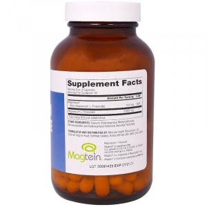 Магний L-треонат, Magnesium L-Threonate, Dr. Mercola, 90 капсул