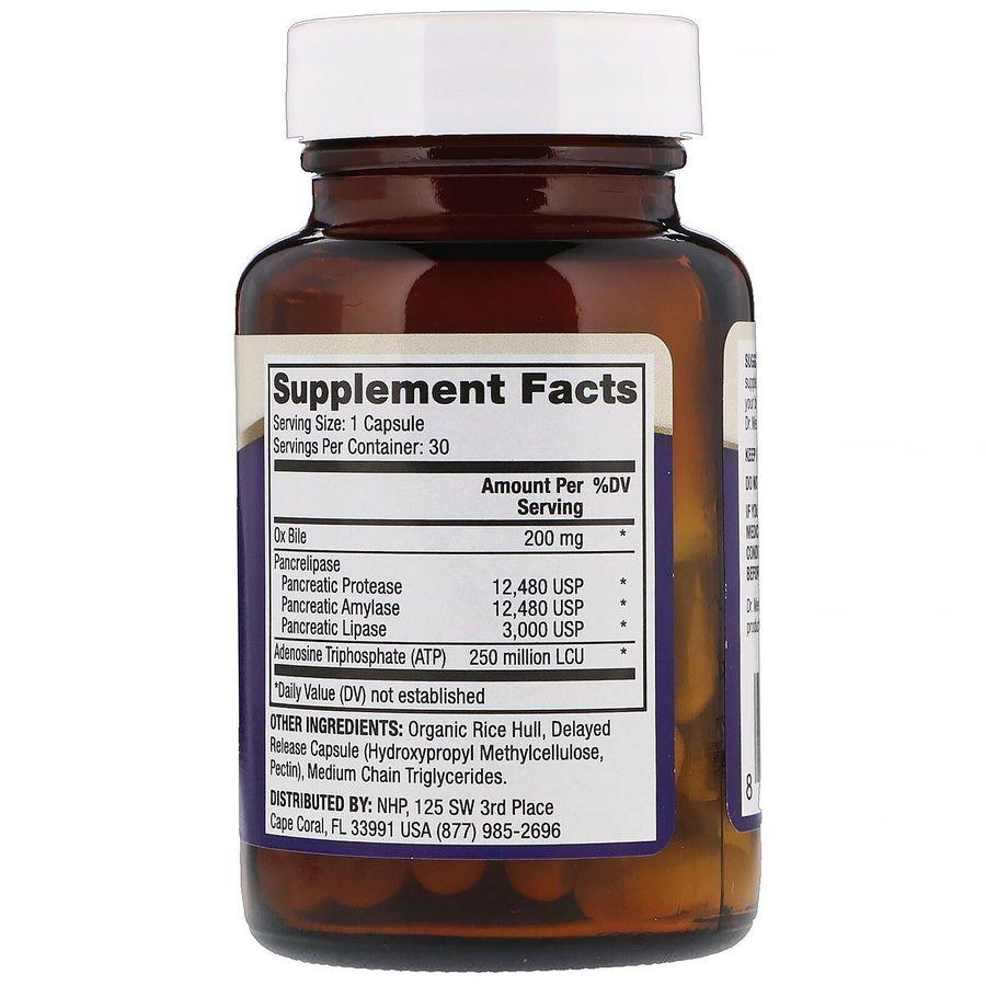 Ферменты, Gallbladder Enzymes, Dr. Mercola, 30 капсул