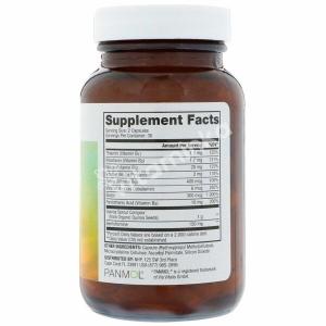 Витамины группы В с бенфотиамином, Vitamin B Complex, Dr. Mercola, 60 капсул