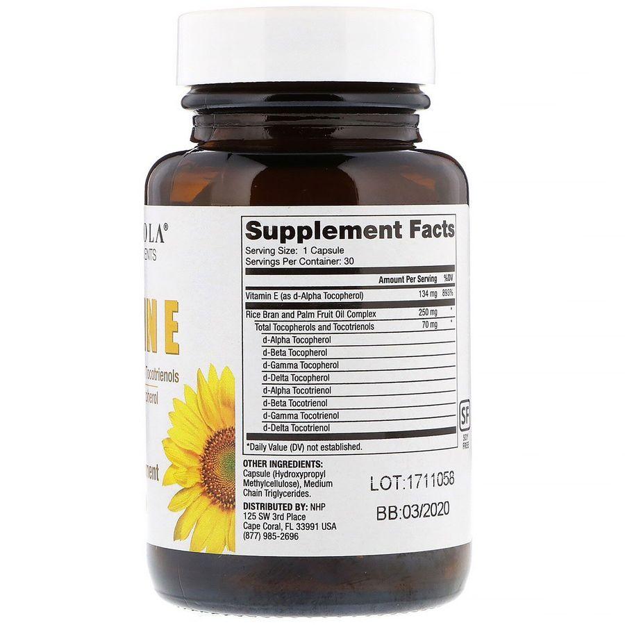 Витамин Е, Dr. Mercola, 30 капсул