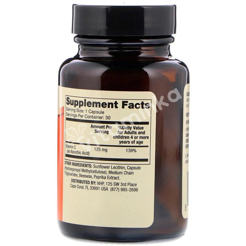Витамин С липосомальный для детей, Liposomal Vitamin C, Dr. Mercola, 30 капсул