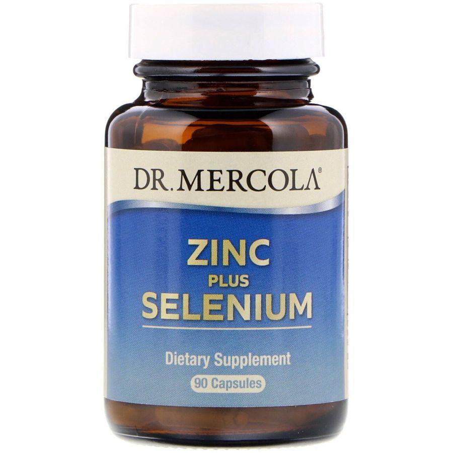 Цинк плюс селен, Zinc Plus Selenium, Dr. Mercola