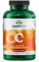 Витамин С с шиповником, Vitamin C with Rose Hips, Swanson, 500 мг, 100 капсул