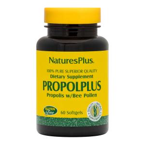 Прополис, Nature's Plus, Пчелиная пыльца, 60 капсул