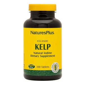 Ламинария, Icelandic Kelp, Nature's Plus, 300 таблеток