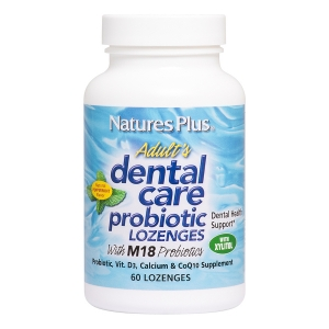 Гигиена полости рта, Dental Care, Nature's Plus, 60 леденцов