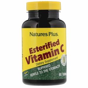 Витамин С эстерифицированный, Esterified Vitamin C, Nature's Plus, 675 мг, 90 таблеток