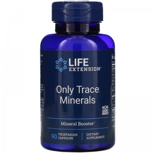 Микроэлементы, Only Trace Minerals, Life Extension, 90 капсул