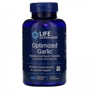 Чеснок, Garlic, Life Extension, 200 капсул