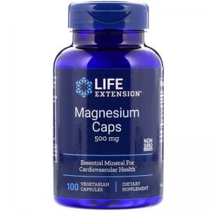 Магний, Life Extension, 500мг, 100 капсул
