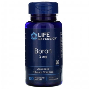 Бор, Life Extension, 3 мг, 100 капсул