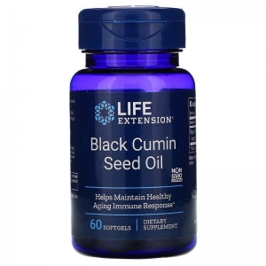 Масло черного тмина, Life Extension, 60 капсул