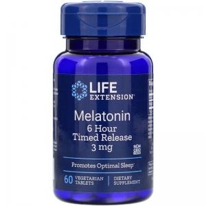 Мелатонин 3 мг, Life Extension, 60 таблеток