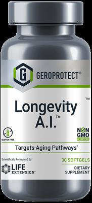 Формула долголетия, Geroprotect Longevity A.I., Life Extension, 30 капсул
