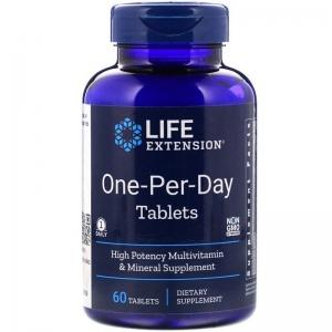 Витаминный комплекс, One-Per-Day, Life Extension, 60 таблеток