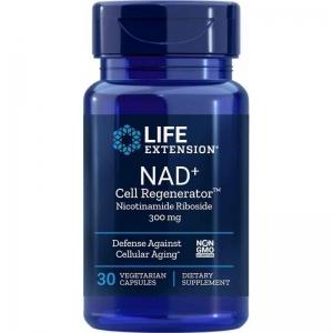 Никотинамид рибозид, Life Extension, 300 мг, 30 капсул