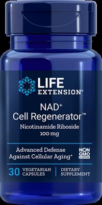 Никотинамид рибозид, Life Extension, 100 мг, 30 капсул