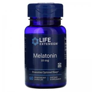 Мелатонин 10 мг, Life Extension, 60 капсул