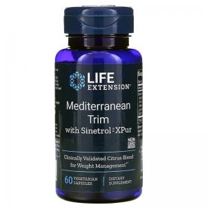 Снижение веса, Mediterranean Trim, Life Extension, 60 капсул