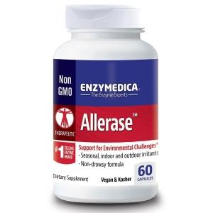Комплекс от аллергии, Allerase, Enzymedica, 60 капсул