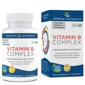 Nordic Naturals, Vitamin B Complex, 45 Soft Gels