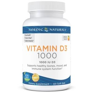 Рыбий жир омега-Д3 (апельсин), Nordic Naturals, 250 мг, 120 кап.
