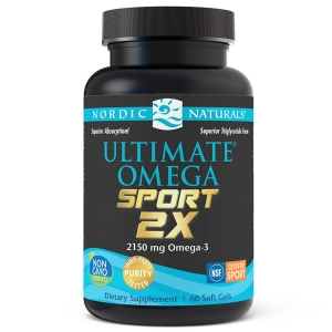 Ultimate Omega 2X Sport, Nordic Naturals,60 caps